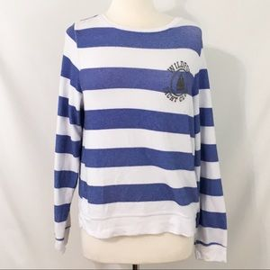 Wildfox Pullover Striped Yacht Club M
